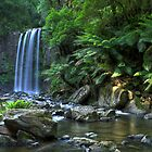 Hopetoun Falls by Clinton Barnes