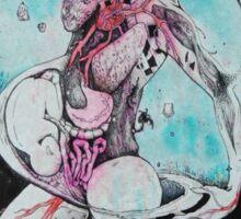Galaxy & Intestines Sticker