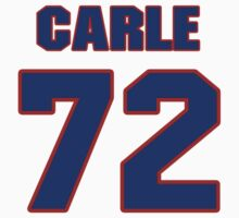 National Hockey player Mathieu Carle jersey 72 by imsport
