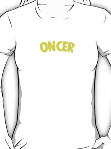 Once Upon a Time - Oncer 2015 - Yellow T-Shirt