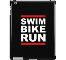 Triathlon - SWIM BIKE RUN -Run DMC Style iPad Case/Skin