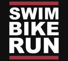 Triathlon - SWIM BIKE RUN -Run DMC Style by phunknomenon