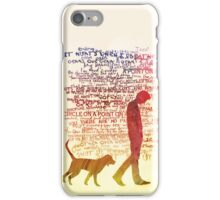 the noise is a man unfiltered iPhone Case/Skin