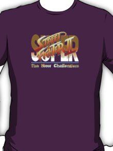 Street Fighter II (Snes) title Screen T-Shirt