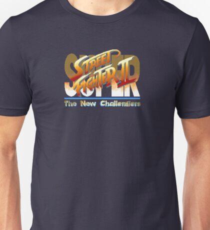 Street Fighter II (Snes) title Screen Unisex T-Shirt