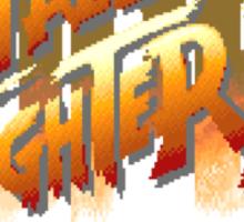Street Fighter II (Snes) title Screen Sticker