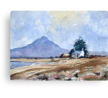 Landscape (after Edward Wesson) by Edward Scale Canvas Print