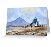 Landscape (after Edward Wesson) by Edward Scale Greeting Card
