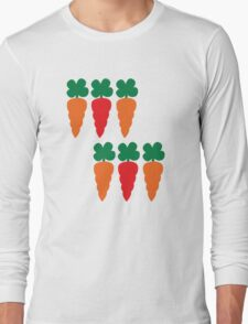 six Carrots cute! Long Sleeve T-Shirt