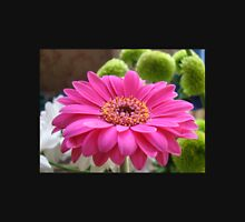 Gorgeous Pink Gerbera Daisy Womens Fitted T-Shirt