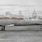 Waterloo Bridge, London by TepeeArt