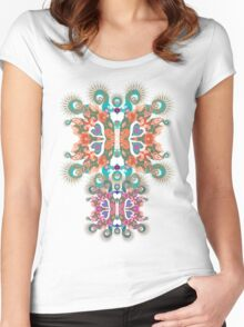 aquaticfly Women's Fitted Scoop T-Shirt