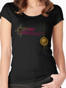 Chrono Trigger (Snes) Title Screen Women's Fitted Scoop T-Shirt