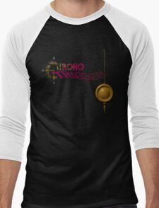 Chrono Trigger (Snes) Title Screen Men's Baseball ¾ T-Shirt