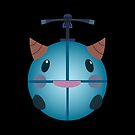 LoL - Snow Poro (with helicopter) by Cafer Korkmaz