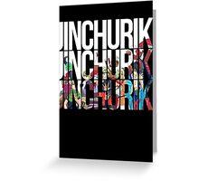 Naruto - Jinchuriki Greeting Card