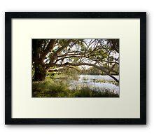 Dunkeld Community Park, Dunkeld, Victoria Framed Print