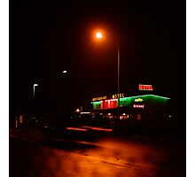 Motel Photographic Print