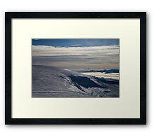 Mountain landscape Framed Print