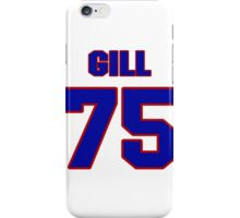 National Hockey player Hal Gill jersey 75 iPhone Case/Skin