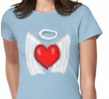Angel Heart  Womens Fitted T-Shirt