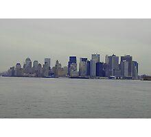 New York City.......Here I Come Photographic Print