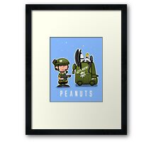 Charlie Brown Marine Framed Print