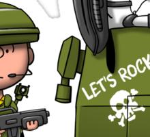 Charlie Brown Marine Sticker