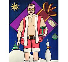 Lebowski Christmas Photographic Print