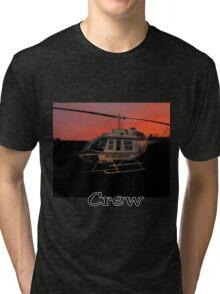 Air Evac Helicopter Tri-blend T-Shirt