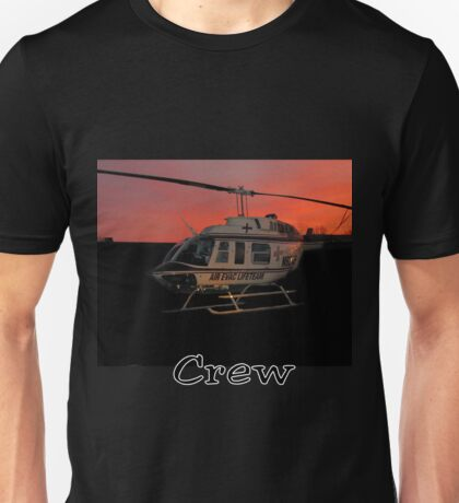 Air Evac Helicopter Unisex T-Shirt