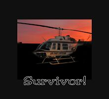 Air Evac Helicopter-Survivor Unisex T-Shirt