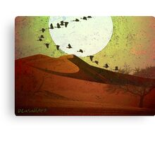 Perpetual Travelers Canvas Print