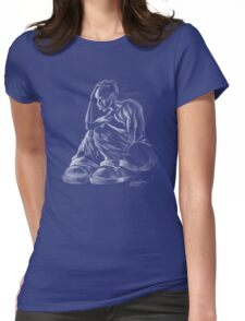 INNA CITY BLUES Womens Fitted T-Shirt