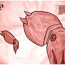 Red Squid by Bollenbach