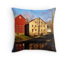 Two Mills Throw Pillow