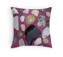 Arizona Rocks on Red Throw Pillow
