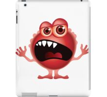 Funny Alien / monster iPad Case/Skin