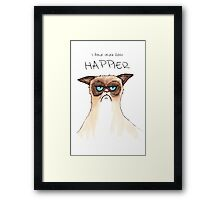 """I have never been Happier"" Framed Print"