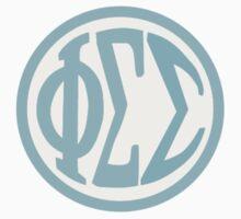 Phi Sigma Sigma Monogram by treehugger11215