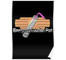 Emergency Induction Port Poster