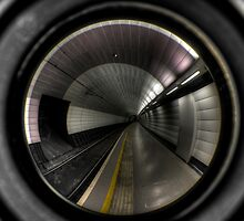 Newcastle Haymarket Metro Station by Andrew Pounder