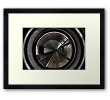 Newcastle Haymarket Metro Station Framed Print