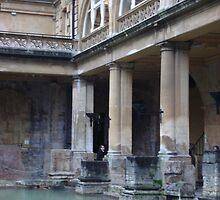 Roman Baths - Bath by Justine Humphries