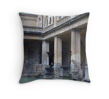 Roman Baths - Bath Throw Pillow