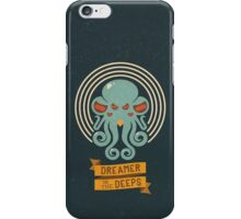 Cthulhu, Dreamer in the Deeps iPhone Case/Skin