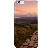 Dawn on the Great Ridge iPhone Case/Skin