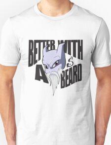 Mewtwo Better With a Beard T-Shirt