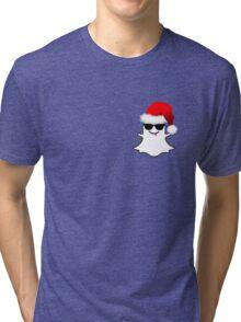 """""""Snapchat"""" Christmas Tri-blend T-Shirt"""