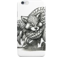 The Red Pandolin iPhone Case/Skin